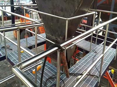 杭州平台锯齿钢格板