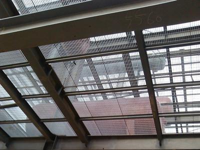 钢格栅板吊顶
